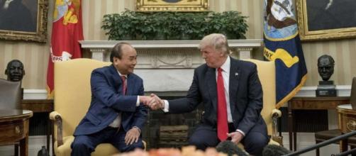 The Latest: Trump welcomes Vietnam leader to White House - New ... - newmilfordspectrum