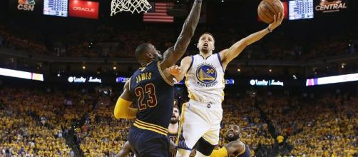The Warriors vs The Cavaliers in the 2017 NBA Finals | Variety - variety.com