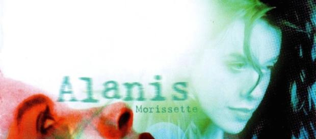 Alanis Morissette's Jagged Little Pill album cover