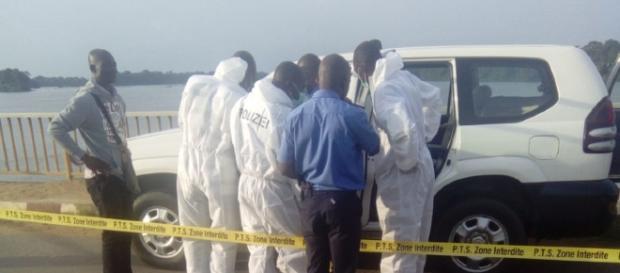 Expertise de la police scientifique camerounaise à Ebebda