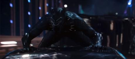 Despite having other superheroes of color, Black Panther will be the first colored Marvel superhero to have his own film. (YouTube/Marvel)
