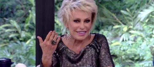 A apresentadora parecia desconhecer o programa (Foto Reprodução - Rede Globo)