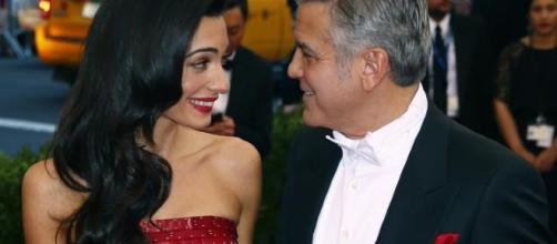Amal Clooney with George Clooney. Source: Flickr Creative Commons
