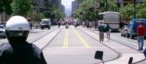 Anti-war protests, San Francisco via Wikimedia Commons