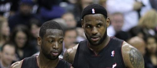 Could Dwyane Wade reunite with LeBron James in Cleveland? - Photo via Keith Allison/Wikimedia Commons - commons.wikimedia.org