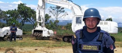 FOTO: Brigada de Ingenieros de Desminado Humanitario N°1