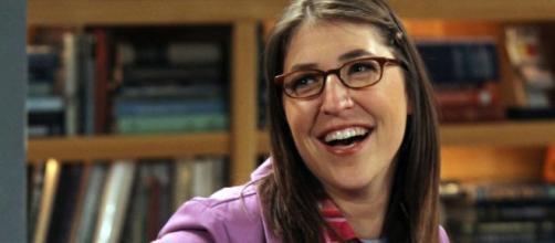 Mayim Bialik of 'The Big Bang Theory' from a Screenshot