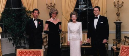 Prince Charles, Princess Diana, Nancy Reagan, and Ronald Reagan / Photo CCo Public Domain via wikimedia