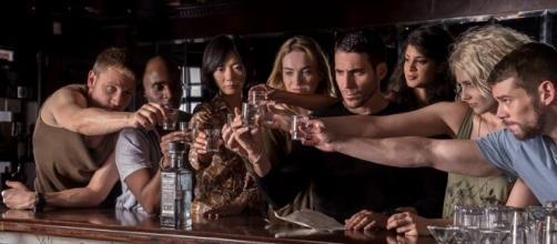 "The main cast of ""Sense8"" on Netflix.~ Facebook/Sense8TV"