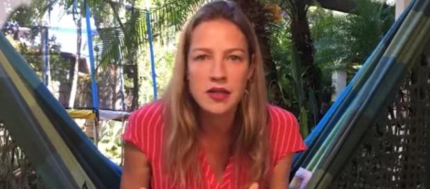 Atriz Luana Piovani criticou artistas da TV Globo contrárias ao ator José Mayer