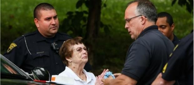 Betty e o namorado discutiram antes dela atirar nele (Foto: Reprodução/The Herald Dispatch)