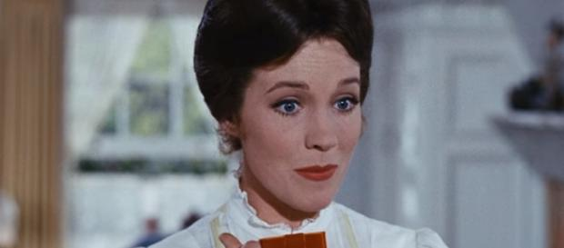 "Julie Andrews sings ""Spoonful of Sugar"" in ""Mary Poppins"" - YouTube/DisneyMusicVEVO"