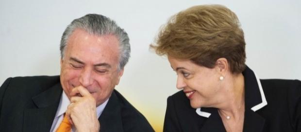 Michel Temer e Dilma Rousseff foram absolvidos em julgamento de processo que pedia a cassação da chapa presidencial (Foto: Marcelo Camargo).