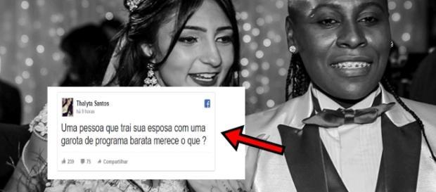 Mulher de Pepê acusa cantora de traição - Google