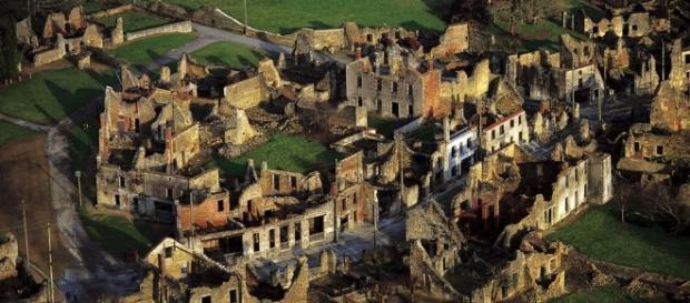 Oradour-sur-Glane - Conclusion + vidéo - ThingLink - thinglink.com