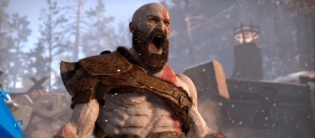 "Sony Santa Monica is expected to present ""God of War 4"" at this year's E3 (via YouTube/PlayStation)"