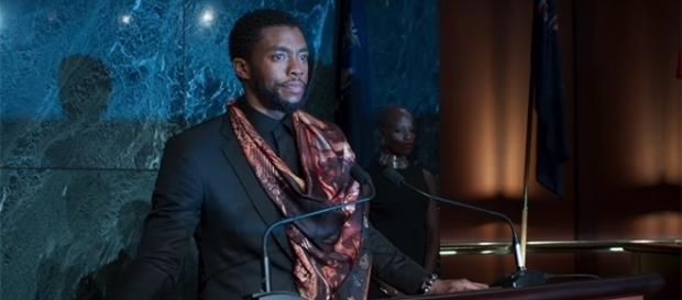 "T'Challa is the new king of Wakanda following the death of T'Chaka in ""Captain America: Civil War."" (YouTube/Marvel)"
