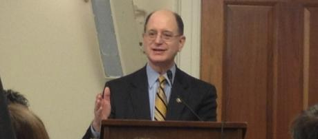 Rep. Brad Sherman (D-Calif.) leads to impeach President Trump. / Image by The Israel Project via Flickr: https://flic.kr/p/dM77S8 | CC BY-SA 2.0
