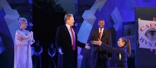 A Trump-like Caesar assassinated on NYC stage - Huron Daily Tribune - michigansthumb.com