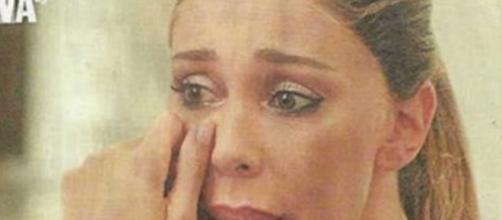Belen in lacrime, distrutta dopo l'addio a Stefano
