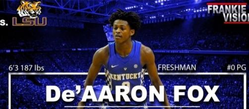 De'Aaron Fox (Kentucky) Full Highlights vs LSU // 2.7.17 // 16 Pts ... Youtube - hooplife.net - https://www.youtube.com/watch?v=a6A5lFVIr24