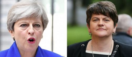 DUP to back Theresa May and support minority government after ... - dailyrecord.co.uk