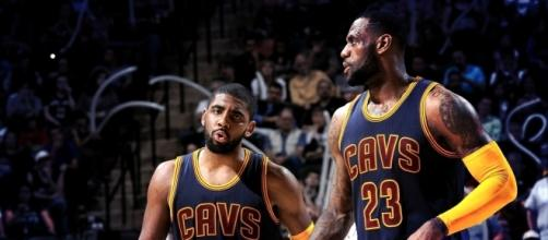 LeBron James says that Kyrie Irving was built for something special - YouTube screen cap
