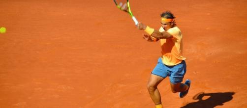 Punto final de partido de Rafael Nadal, Barcelona. | Flickr - flickr.com