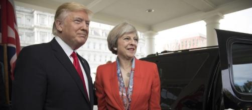 Trump was invited by May to visit the UK- The White House via Flickr