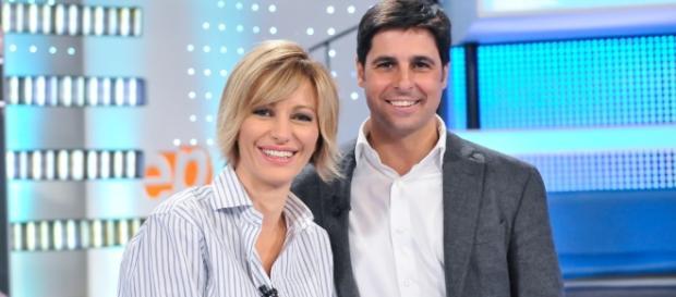 """Fran Rivera, colaborador de """"Espejo Público"""" con Susanna Griso"""