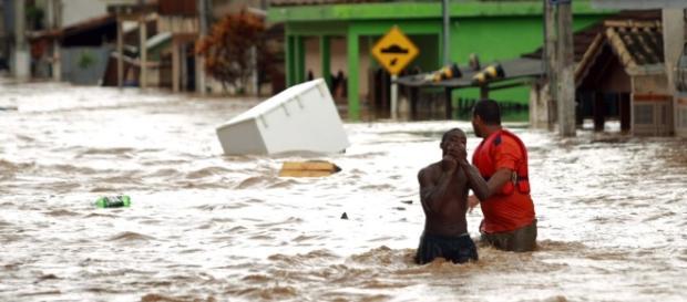 Conheça doenças causadas por enchentes (Foto: Nicholas Gimenes)