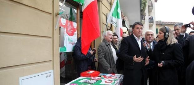 Matteo Renzi a Rignano sull'Arno (foto archivio: La Stampa)