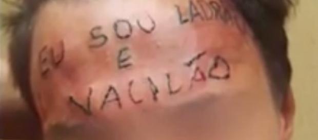Tatuador que escreveu 'ladrão' na testa de menor é detido em São Paulo