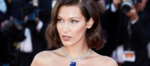 Bella Hadid suffers wardrobe malfunction at Cannes Film Festival ... - aol.com