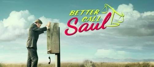 Better Call Saul tv show logo image via a Youtube screenshot by Andre Braddox