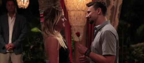 Evan Bass and Carly Waddell's 'Bachelor in Paradise' Wedding Date Screenshot