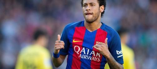 Il fuoriclasse brasiliano del Barcellona, Neymar.