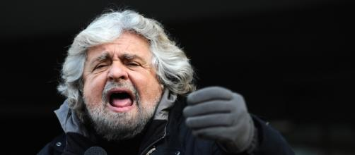 Il leader del Movimento 5 Stelle, Beppe Grillo