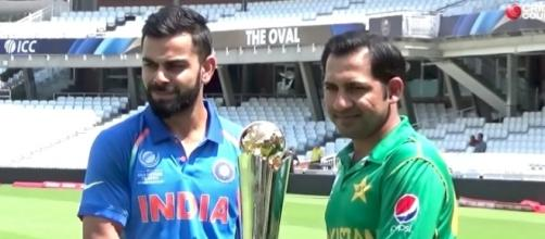 India and Pakistan will meet for the 2017 ICC Finals on Sunday, June 17th. [Image via Cricket County/YouTube]