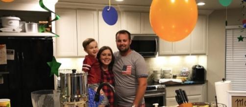 Josh and Anna Duggar celebrate Marcus' 4th birthday (Photo via Duggar Family Official/Facebook)