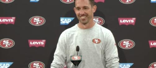 Kyle Shanahan Recaps 49ers Offseason Program/ screencap from San Francisco 49ers via Youtube