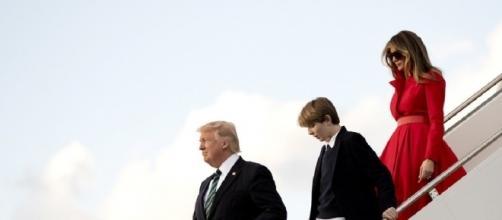 Melania and Barron Trump to move into White House next week: Report - washingtonexaminer.com
