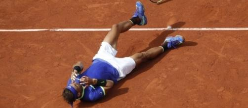 Rafael Nadal wins record-breaking 10th French Open/ photo via Inquirer Sports -Sportsnews.com