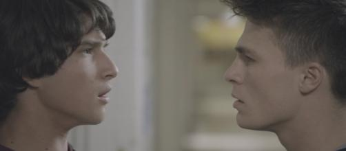Scott (Tyler Posey) and Jackson (Colton Haynes) in 'Teen Wolf'/Photo via screencap, 'Teen Wolf'/MTV