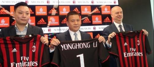 Yonghong Li, le nouveau président de l'AC MILAN.