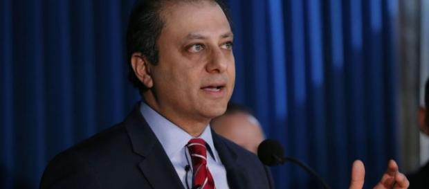 After AG Pete Bharara did not return Trump's third phone call, the new president asked him to resign. Photo via World News, YouTube.