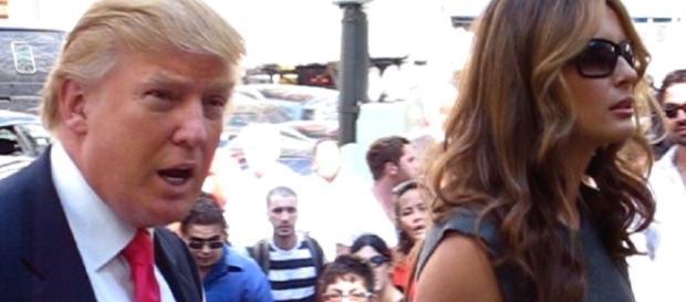 Donald and Melania Trump (Dodo - Wikimedia)