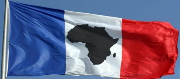 Drapeau FrancAfrique - AfriqueMonde