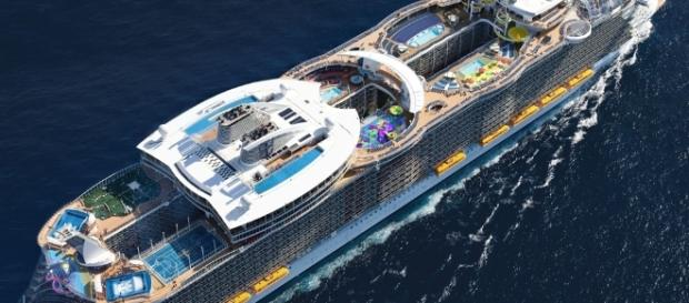 Symphony Of The Seas is set to debut cruising on summer next year. Photo - cruisemapper.com