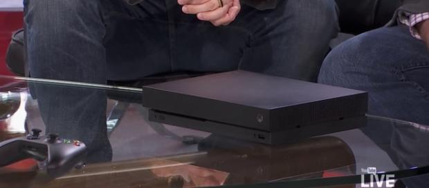 Xbox One X as seen on Live at E3   YouTube